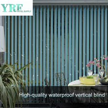 Good Lightproof Vertical Pleated Temporary Blinds