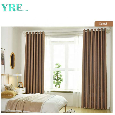 Villa Plain Color Blackout Heavy Duty Insulated Living Room Curtain