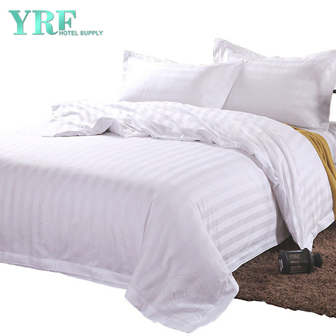 4 PCS Luxurious 250 Thread Count Cotton Inn Fine Hotel Bedding