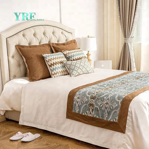 YRF Decoration Cushion 5 Star Hotel Cushions And Bed Runners