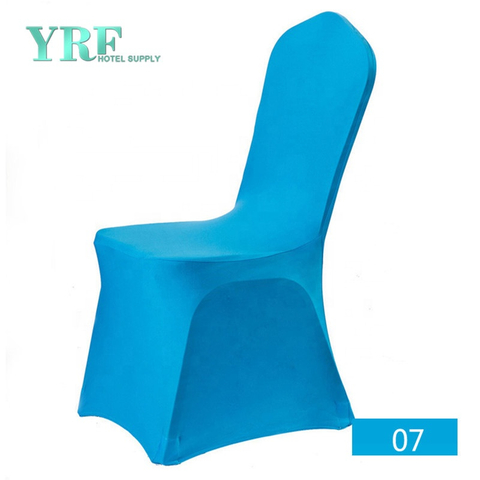 YRF High Quality Navy Blue Spandex Chair Cover