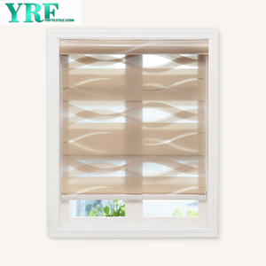 Horizontal Window Shade Blind Zebra Dual Roller Blinds Day