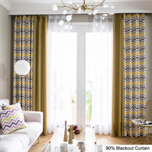 100 X 84 Navy And White Striped Blackout Curtains For YRF