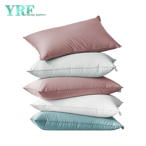 Customized Wholesale Five Star Partitioned Comfort White Sleep Down Pillows