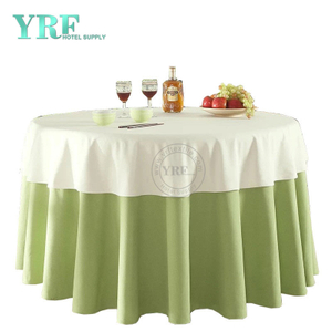 "YRF Table Cover Hotel Party 72"" linen 100% Polyester Round"