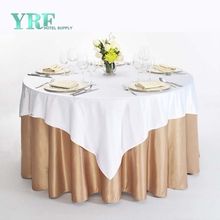 YRF China Factory Table Cloth Round Cheap Polyester Hotel Apartment