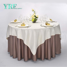 YRF Factory Supply Table Cloth Round Discount 100% Polyester Apartment