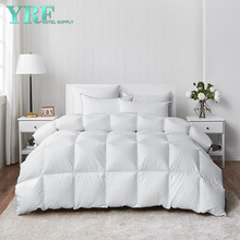 Hotel 95% Goose Down China Supplier 100% Cotton King Cover White