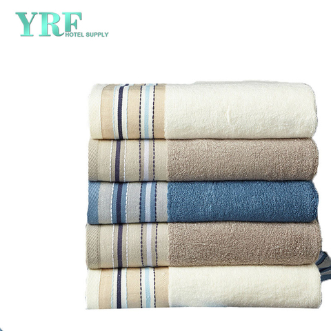 Pure Cotton Skin-Friendly Section Soft Bamboo Bath Towel Hotel Custom Logo