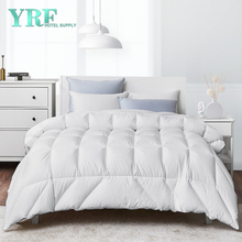 wholesale 100% Egyptian Cotton Cover Comforter White Twin Size Hotel Goose Down