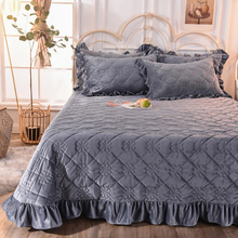 China Bedspread Set Lightweight Twin XL Cover Quilt Gray for Spring and Summer