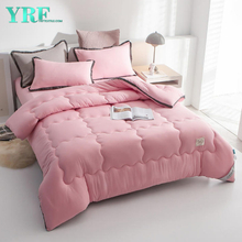 Home Comforter Quilt Cotton Blend Breathable Warmth Summer Thin For Twin Bed