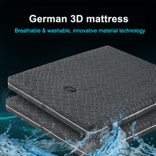 5 Star Hotel Washable Mattress 4D breathable fabric Detachable Single Bed