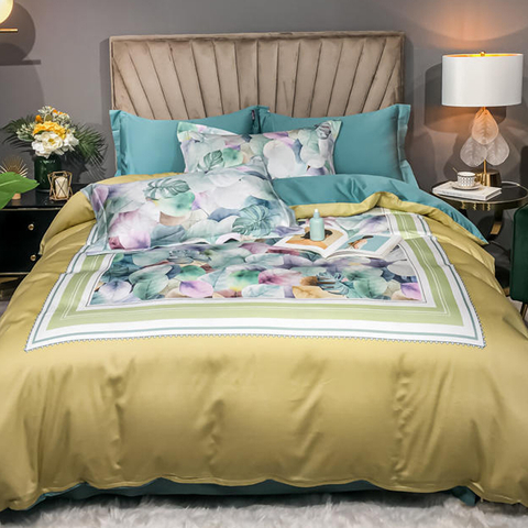 Cheap Price Bedding Cotton Fabric Comfortable For Queen Bed Bedsheet
