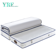 5 Star Hotel Bedroom Mattress Comfortable Foldable 12 Inch King Bed