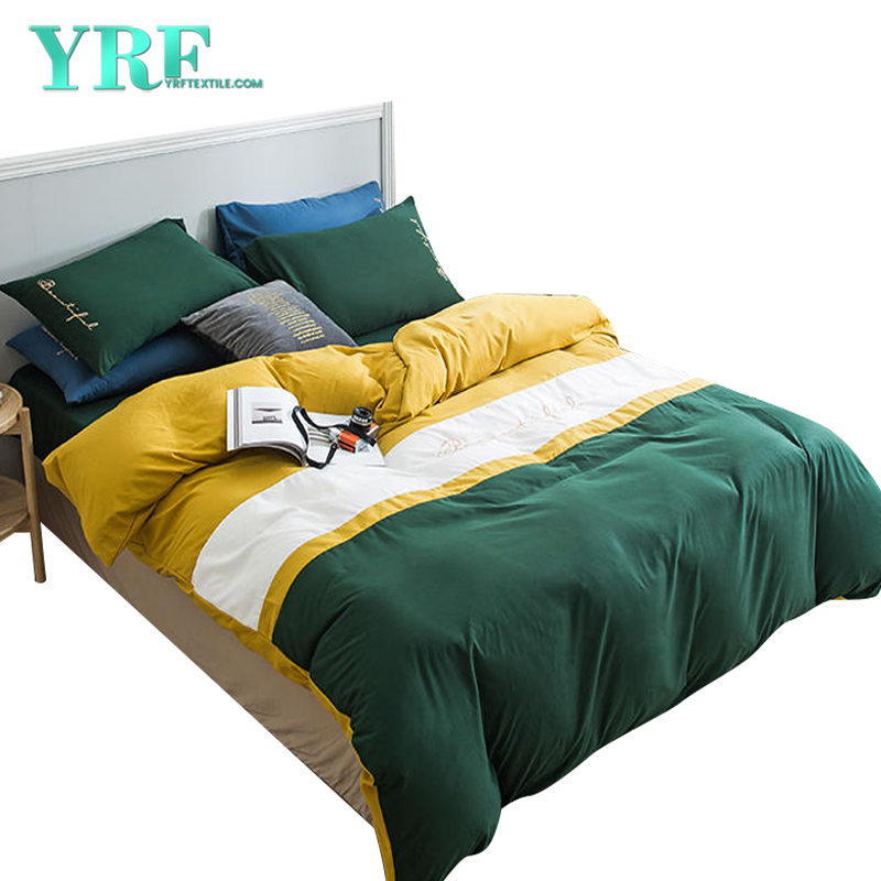 Bed Sheet Wholesale King Bed Embroidery Multi Color For Home stay